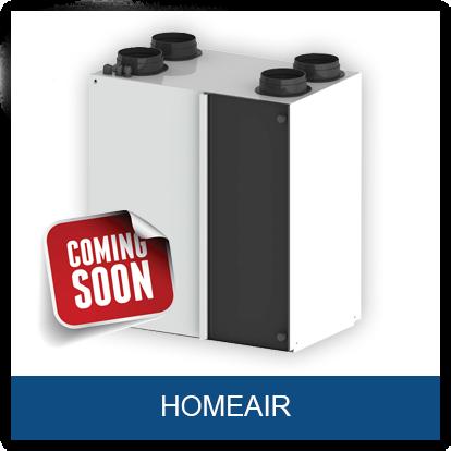 Home Air von Airovent Lüftungsgerät mit Wärmerückgewinnung