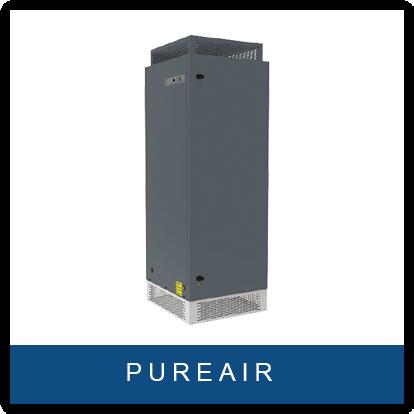 HomeAir Lüftungsgerät, Luftreiniger für Gebäude mit Luftfilter